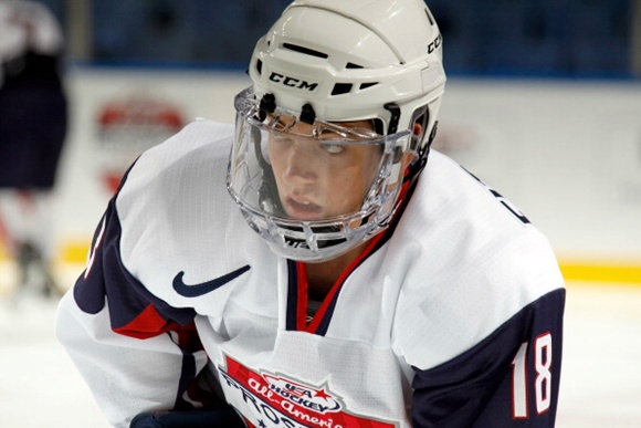 2012 CCM/USA Hockey All-American Prospects Game - Ryan Fitzgerald