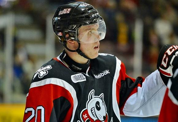 Brett Ritchie - Niagara Ice Dogs