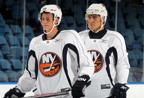 Kirill Kabanov and Kirill Petrov - New York Islanders