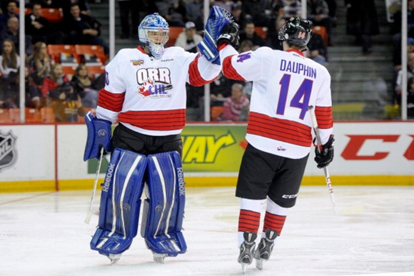 Spencer Martin and Laurent Dauphin - Team Orr