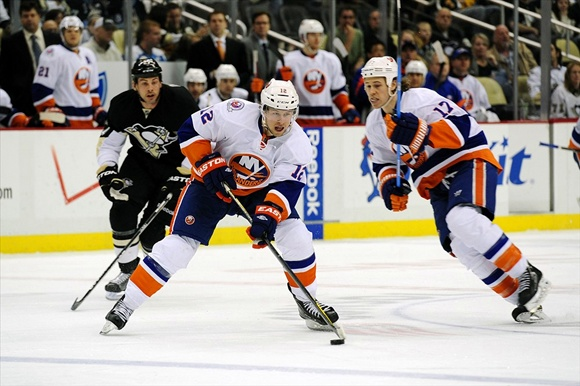Josh Bailey and Matt Martin - New York Islanders