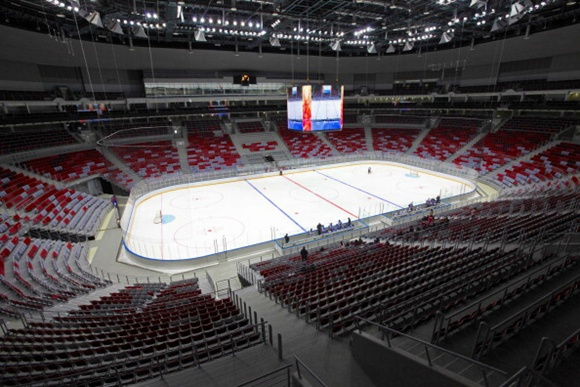 Bolshoy Ice Dome - Sochi Olympic Village
