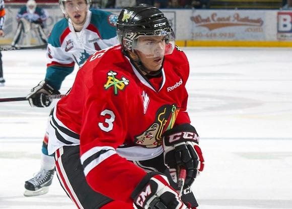 Seth Jones - Portland Winterhawks