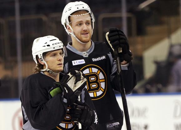 Torey Krug and Dougie Hamilton - Boston Bruins
