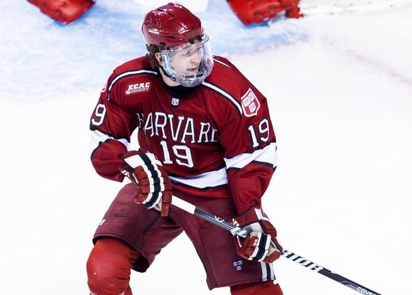 Jimmy Vesey - Harvard Crimson