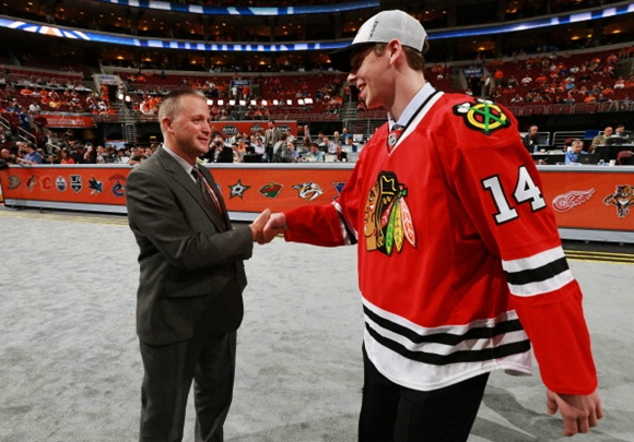2014 NHL Draft: Blackhawks' draftee Starrett to develop in the USHL, NCAA