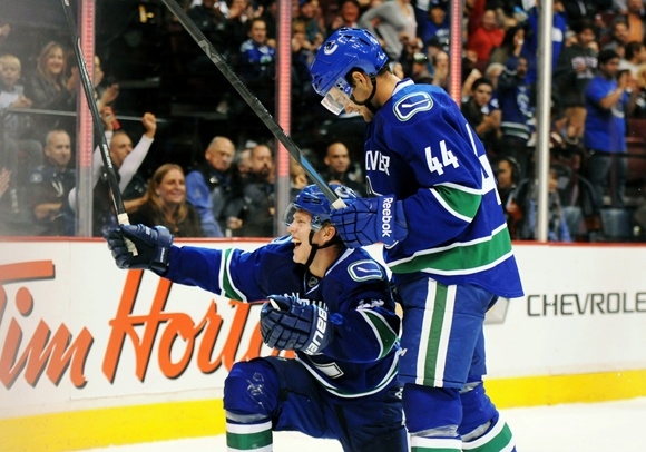 NHL: SEP 23 Preseason - Sharks at Canucks