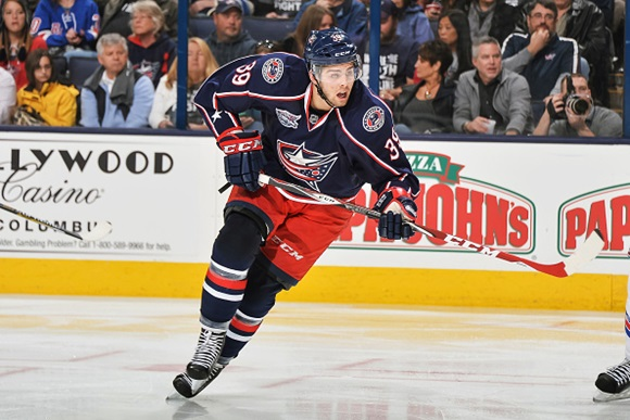 Michael Chaput - Columbus Blue Jackets
