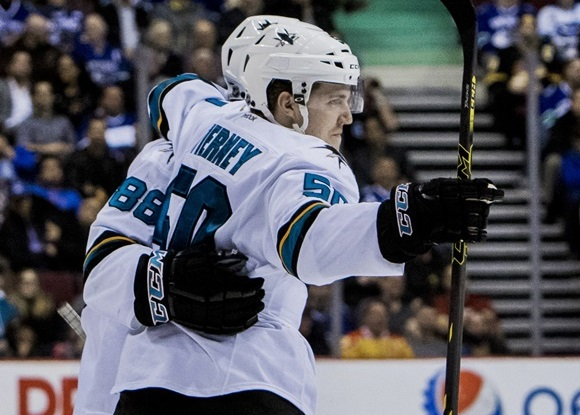 Chris Tierney - San Jose Sharks