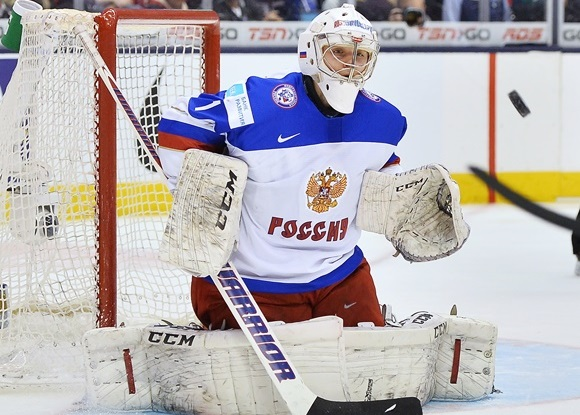 Ilya Sorokin - Team Russia - 2015 IIHF World Junior Championship