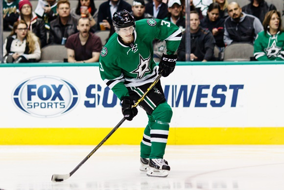 Photo: Dallas Stars rookie John Klingberg has been an unexpected source of scoring this season. (courtesy of Andrew Dieb/Icon Sportswire)