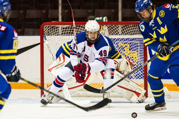 Max Jones - Team USA - World U17 Hockey Challenge