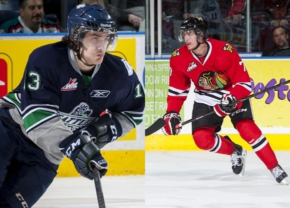 Mathew Barzal - Seattle Thunderbirds; Paul Bittner - Portland Winterhawks - Prospect Faceoff for 3/5/15