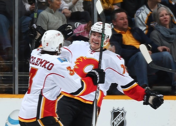 (Video) First NHL Goal: Ferland pots eventual game winner in Flames victory