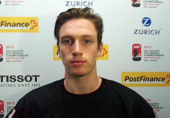 Thomas Chabot - Team Canada - 2015 IIHF Ice Hockey U18 World Championship