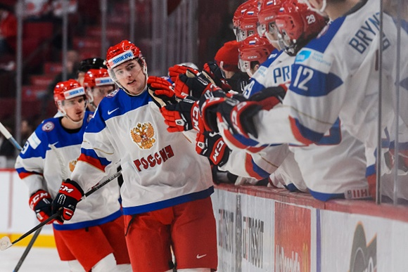 Ivan Barbashev - Team Russia - 2015 IIHF World Junior Championship