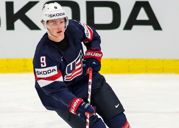 Jack Eichel - Team USA - IIHF Ice Hockey World Championships