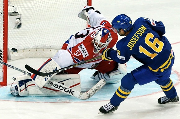 Jacob Josefson - Team Sweden - 2015 IIHF Ice Hockey World Championship