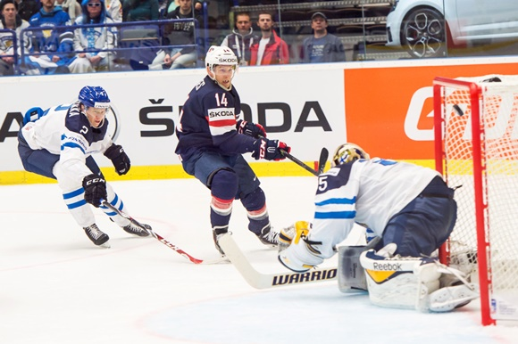 Steve Moses - Team USA - 2015 IIHF World Championship