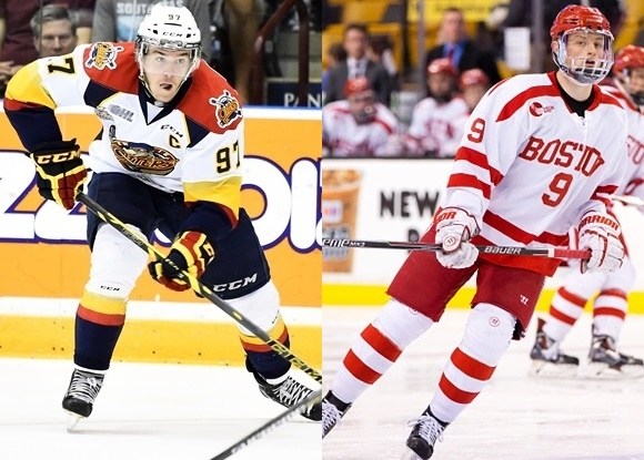 Connor McDavid - Erie Otter; Jack Eichel - Boston University
