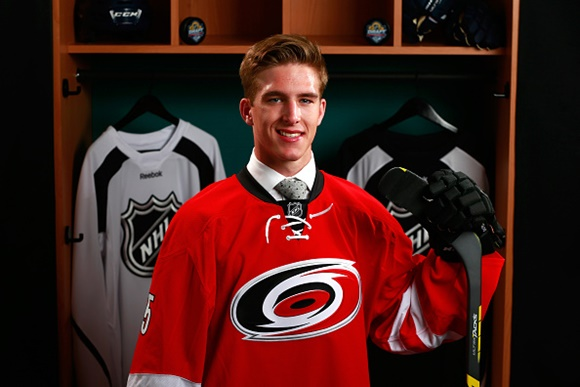 [2015 NHL Draft] First Round, Fifth Overall: Carolina Hurricanes help an area of need by drafting Noah Hanifin