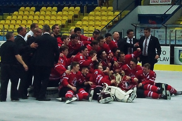 Team Canada - Gold Medal Game - 2015 Ivan Hlinka Memorial Tournament