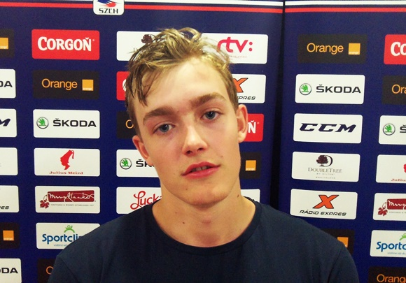 William Fallstrom - Team Sweden - 2015 Ivan Hlinka Memorial Tournament