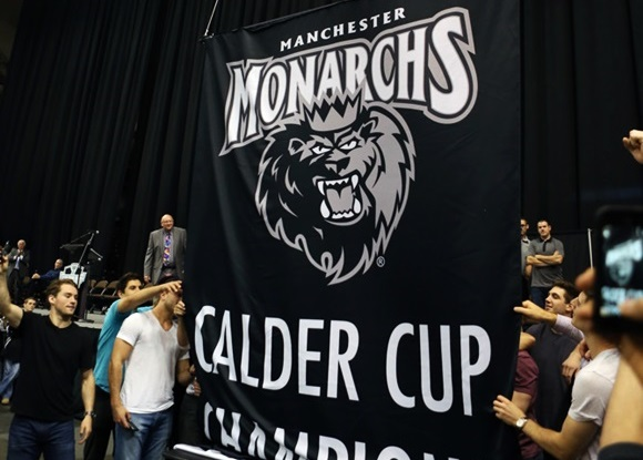 Manchester Monarchs Calder Cup Celebration - 2015