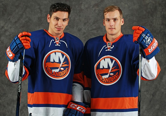 Photo: With top prospects like Michael Dal Colle and Ryan Pulock waiting in the wings, the Islanders can only get better in the years to come. (Courtesy of Ken Andersen/NHLPA via Getty Images)