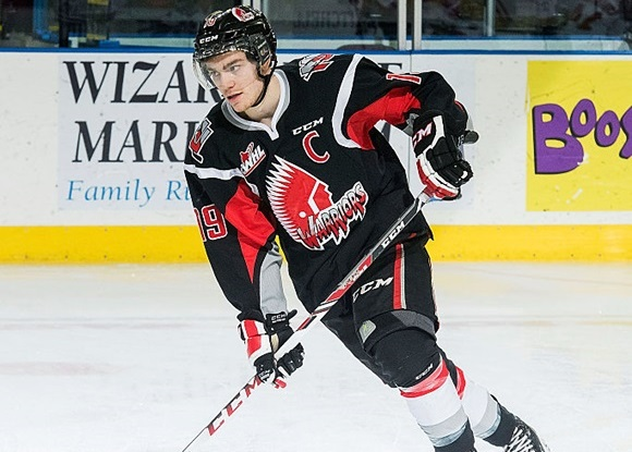 Brayden Point - Moose Jaw Warriors