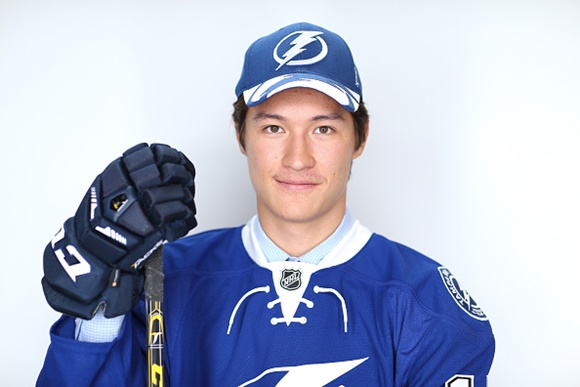 Dennis Yan - Tampa Bay Lightning - HF's NHL Prospect of the Month, October, 2015