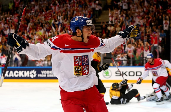 Dominik Simon - Team Czech Republic - 2015 IIHF World Championship