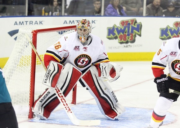 Jon Gillies - Stockton Heat