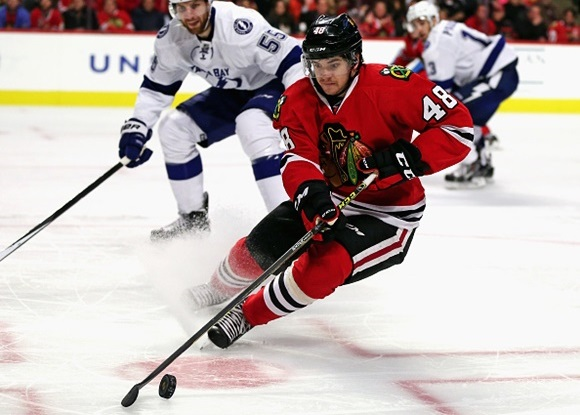 Vince Hinostroza - Chicago Blackhawks