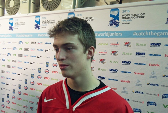 Travis Sanheim - Team Canada - 2016 IIHF World Junior Championship