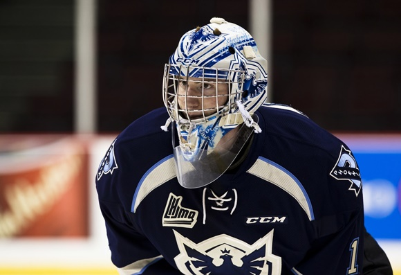 (Podcast) 2016 CHL/NHL Top Prospects Game: Focused Fitzpatrick stands tall in Sherbrooke net