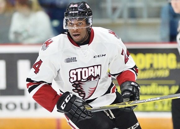 Givani Smith - Guelph Storm