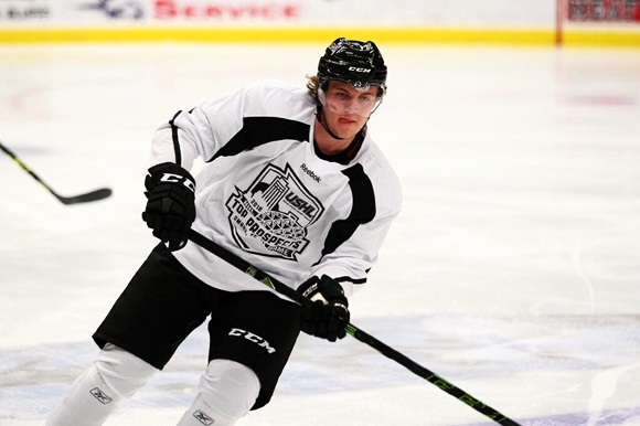 2016 USHL/NHL Top Prospects Game: Hoff a scoring star in offensive Lincoln lineup