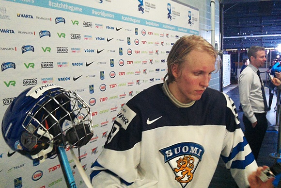 Patrik Laine - Team Finland - 2016 IIHF World Junior Championship