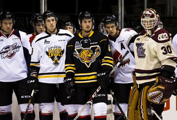Team Orr Players - 2016 BMO CHL/NHL Top Prospects Game