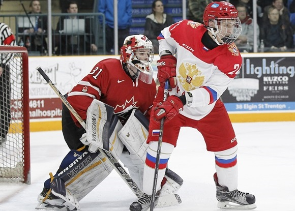 Artur Kayumov - Team Russia - 2015 World Junior A Challenge