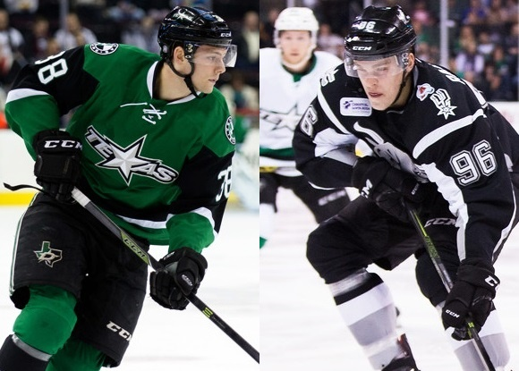 Jason Dickinson - Texas Stars; San Antonio Rampage - Mikko Rantanen - Prospect Faceoff for 2/5/16