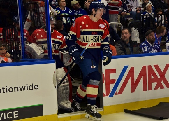 Mike McCarron - Team North Division - 2016 AHL All-Star Classic