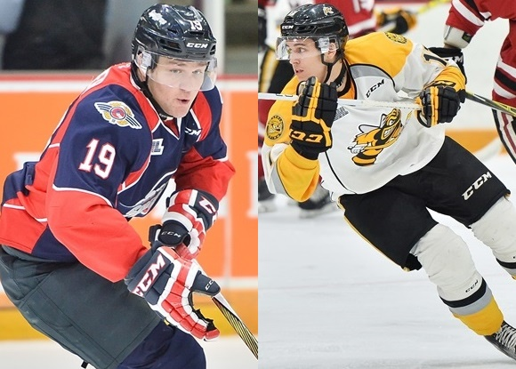 Christian Fischer - Windsor Spitfires; Travis Konecny - Sarnia Sting - Prospect Faceoff for 3/3/16
