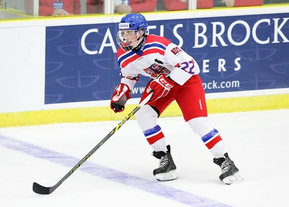 Kristian Reichel - Team Czech Republic - 2015 World Junior A Challenge