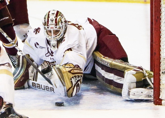 Frozen Four-bound Demko top NHL-drafted goaltender in NCAA in 2015-16