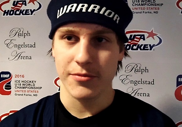 (Video) 2016 U18 World Championship: Finland's Tolvanen giving a preview of things to come in 2017
