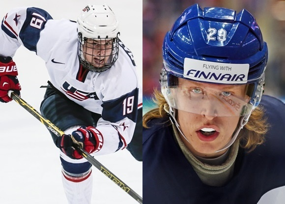 2016 NHL Draft - Auston Matthews - USA; Patrik Laine - Finland