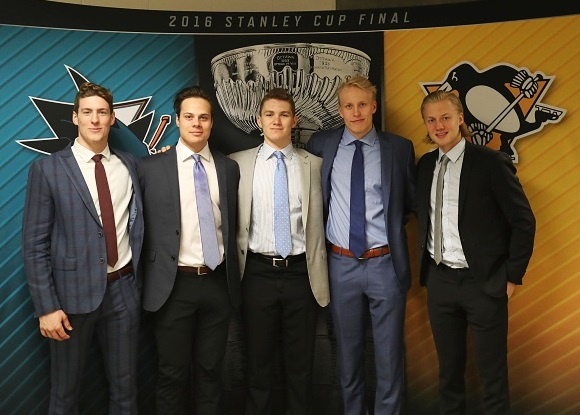2016 NHL Draft Top Prospects - Pierre-Luc Dubois, Auston Matthews, Matthew Tkachuk, Patrik Laine, and Alexander Nylander